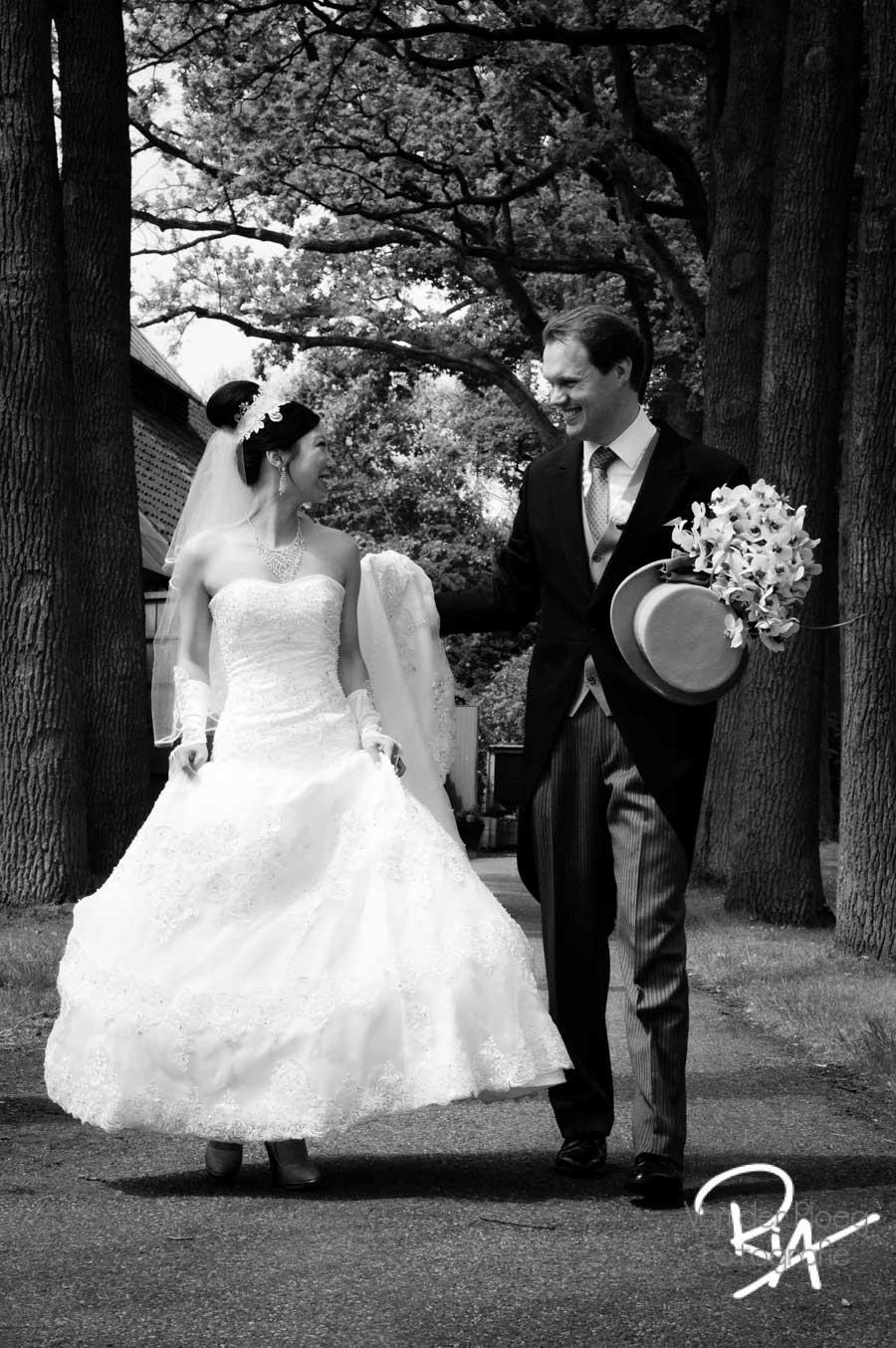 bruidsfotograaf Waalre bruidsfotografie huwelijk