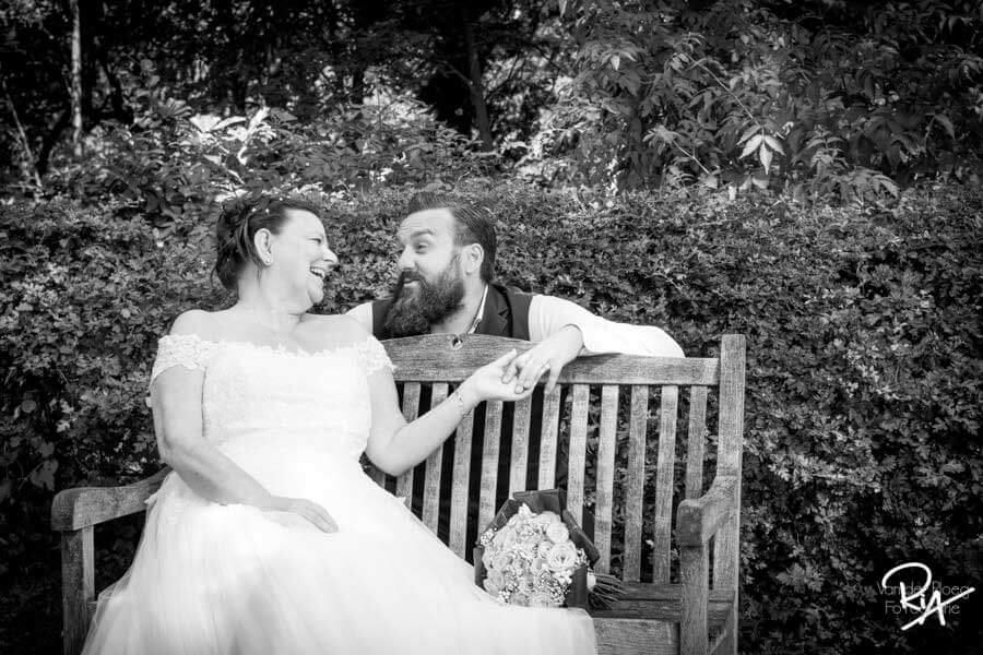 fotografie bruidspaar borkel schaft