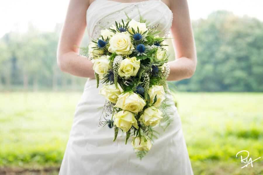 fotografie regio Eindhoven huwelijk bruidsboeket