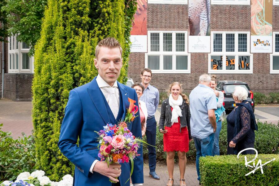 Bruidsfotograaf Valkenswaard fotograaf bruidegom