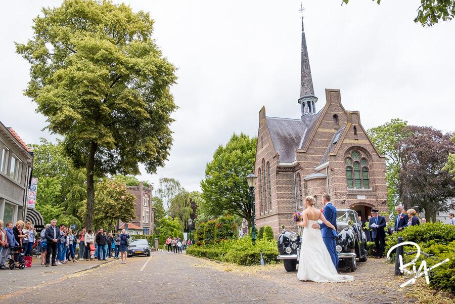 bruidsfotograaf valkenswaard kerkje Weerderhuys