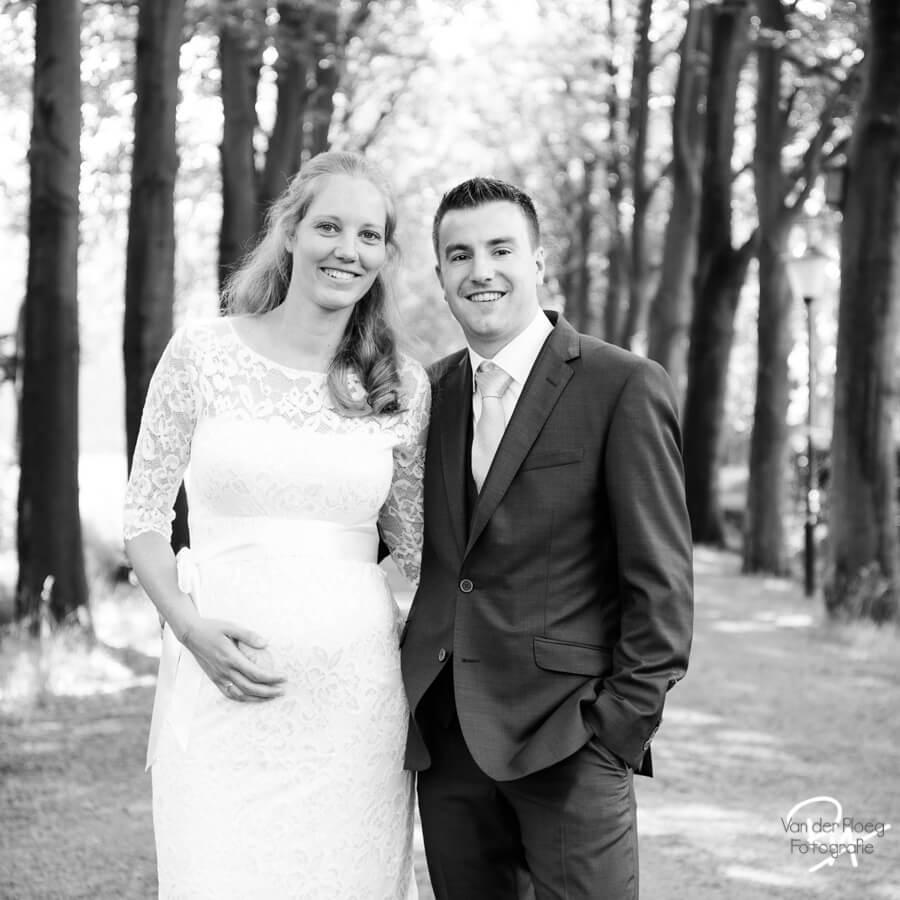 bruidsfotograaf waalre bruidspaar fotograaf