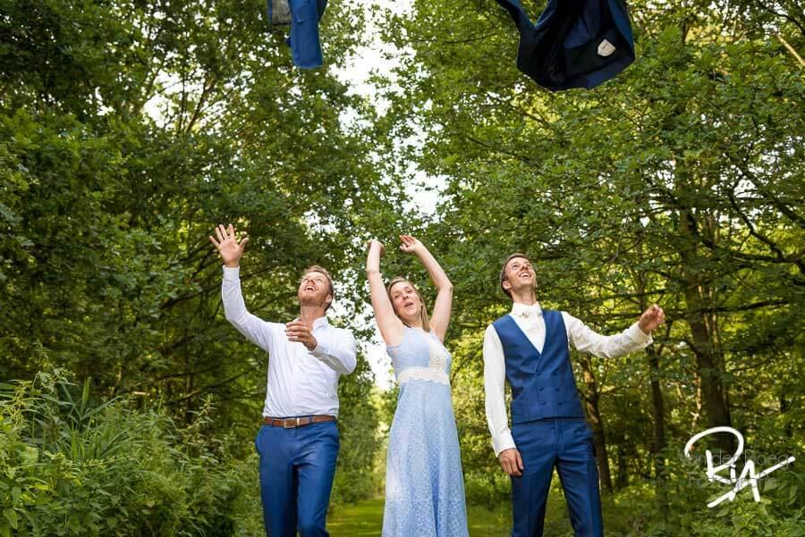Groepsfoto bruiloft fotograaf geldrop