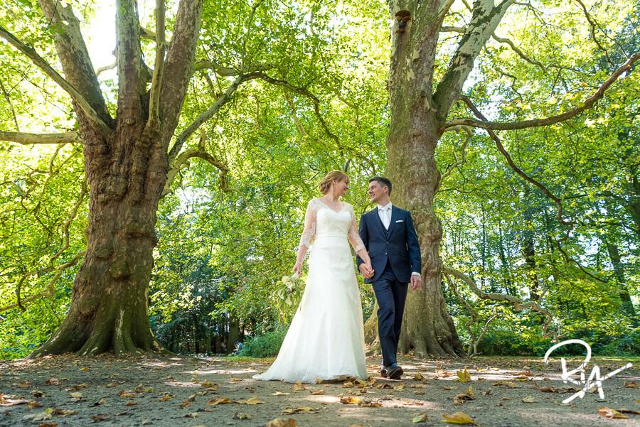 tuin kasteel geldrop fotograaf bruiloft