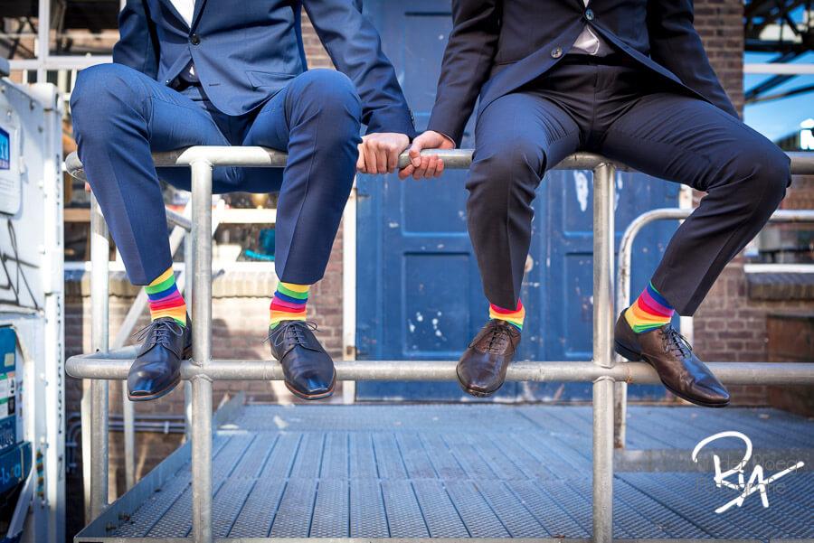 Huwelijk twee mannen bruidsfotograaf Eindhoven