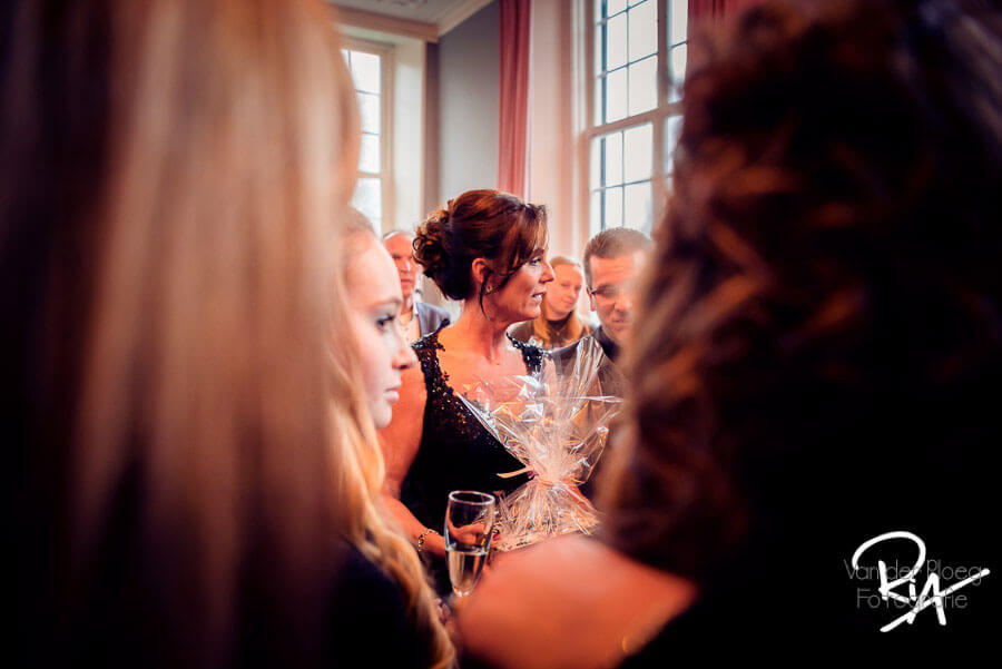 Fotograaf feest huwelijk bruiloft kasteel Maurick Vught