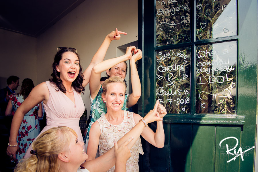 fotograaf theetuin kasteelhoeve huwelijk feest