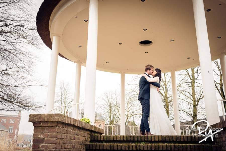 Bruidsfotograaf Waalre kiosk fotograaf huwelijk