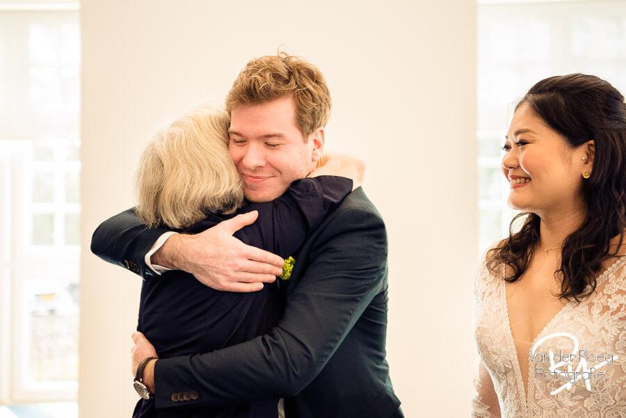 Blijdschap getrouwd fotografie bruidsfotografie regio Eindhoven