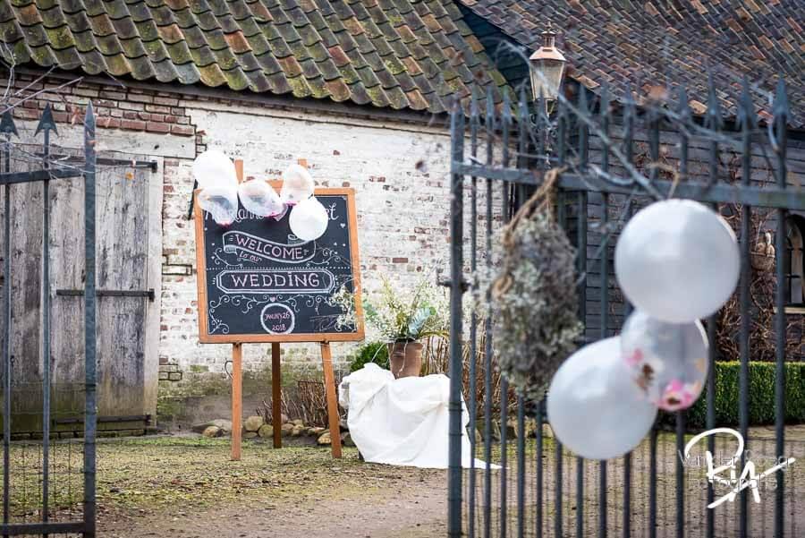 Fotograaf sfeer bruiloft Maarheeze bruidsfotografie