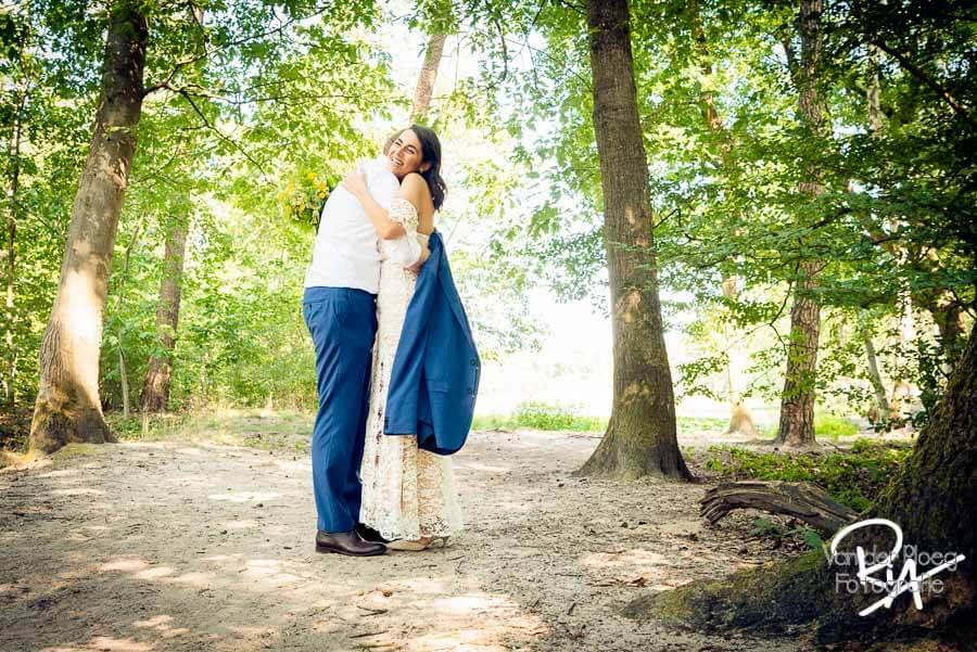 Bruidsreportage Waalre Meertjesven trouwfotograaf