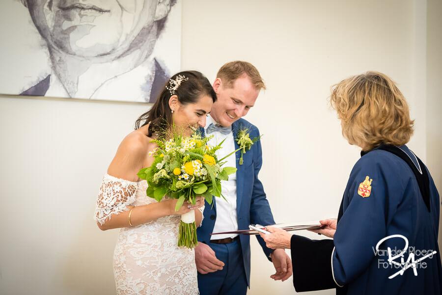 Bruidsreportage Waalre ambtenaar burgelijke stand
