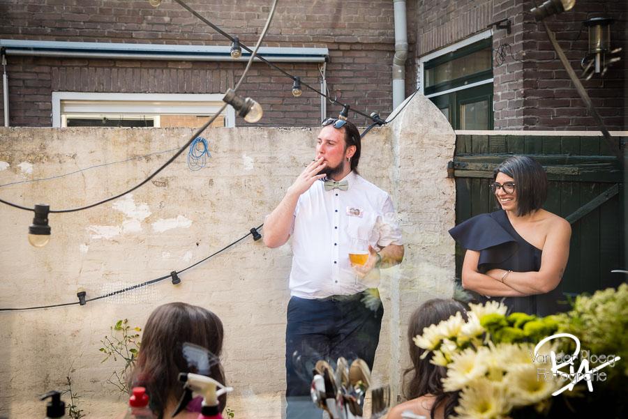Daggasten huwelijk roken samen Aalst fotografie