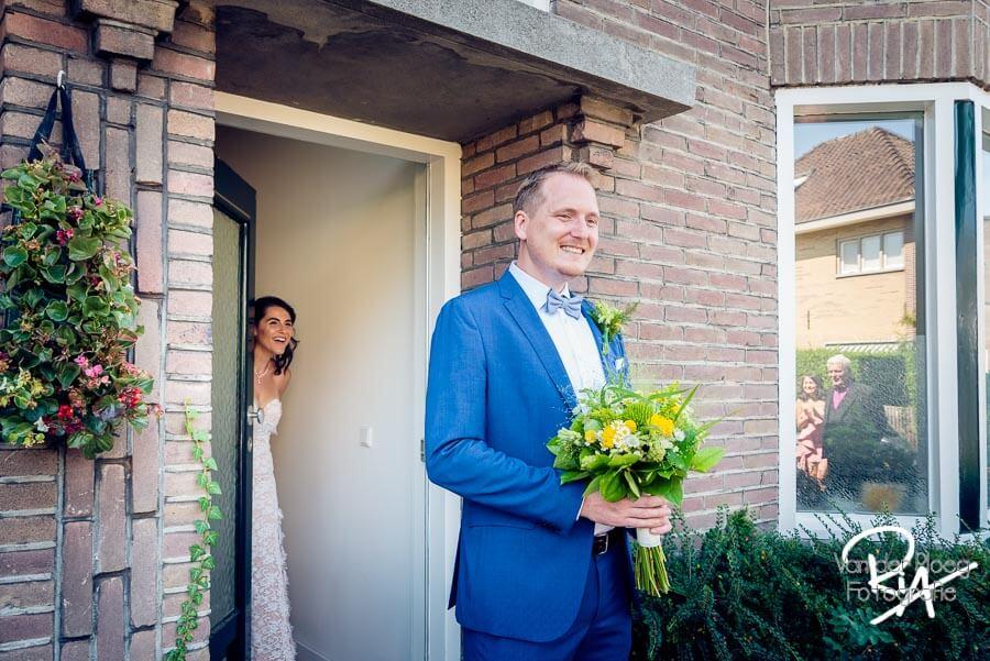 First Look trouwfotograaf Waalre fotograaf huwelijk