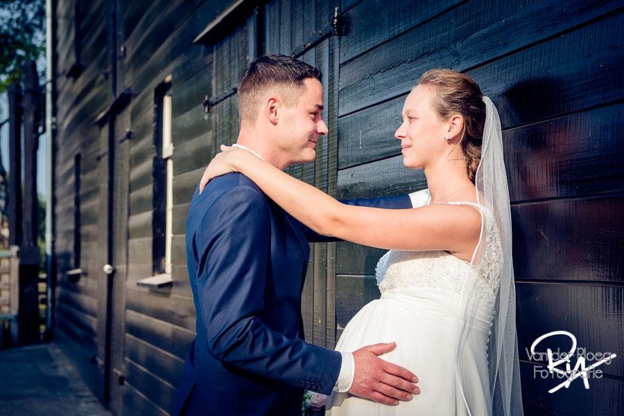 Fotografie bruiloft fotosessie Malpie bruidspaar