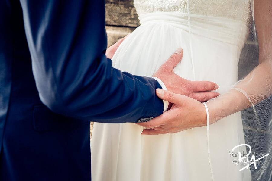 trouwfotograaf Waalre zwangere bruid Ria Ploeg