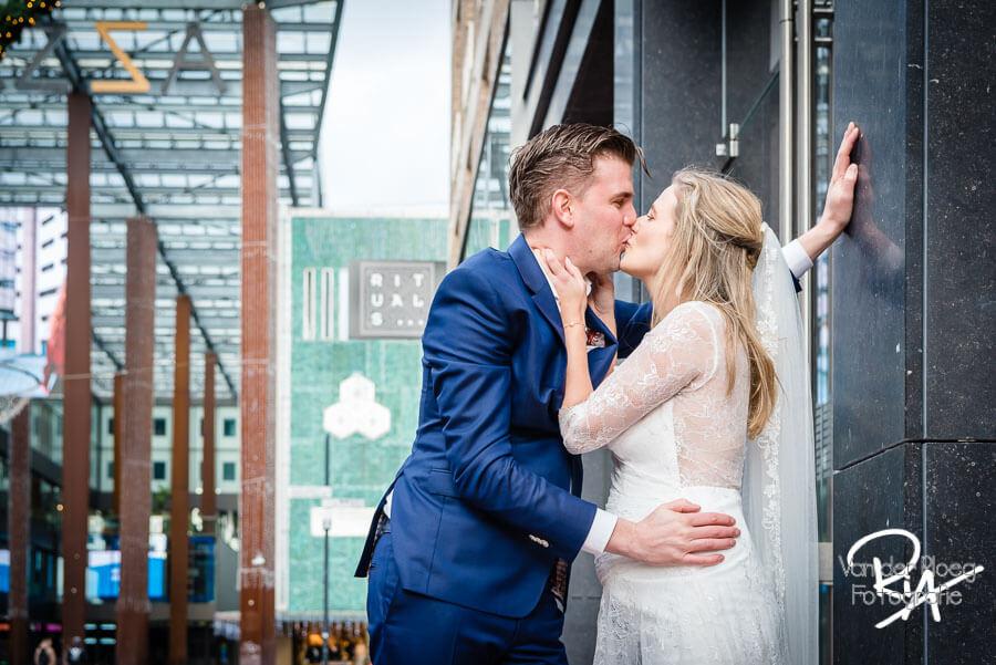 Bruidsfotografie centrum Eindhoven trouwfoto Piazza