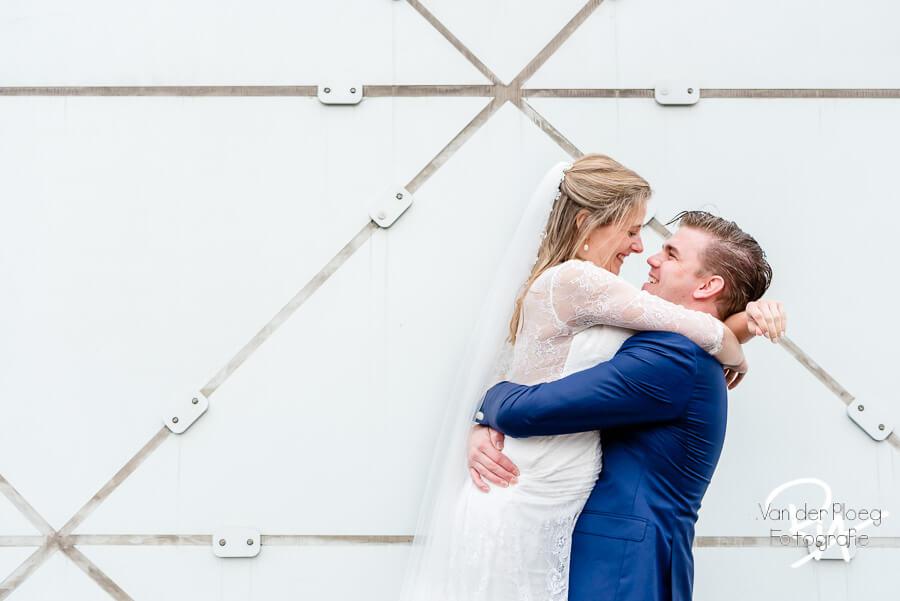 Fotograaf Waalre huwelijk bruidspaar The Blob