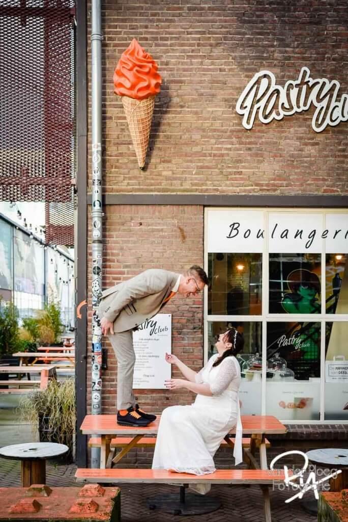 Creatieve Trouwfotograaf Strijp S Eindhoven
