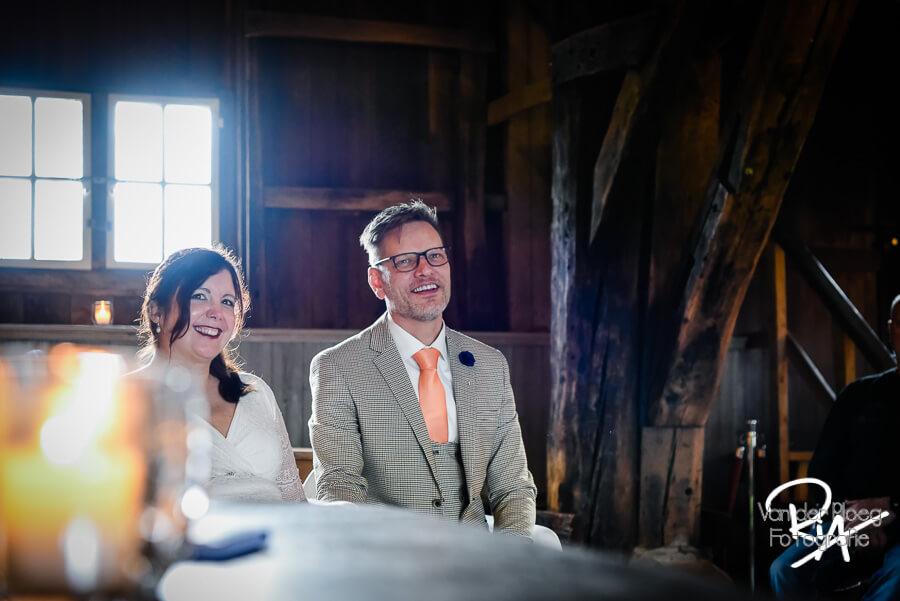 Fotograaf bruidspaar bruiloft Opwettense Watermolen Nuenen