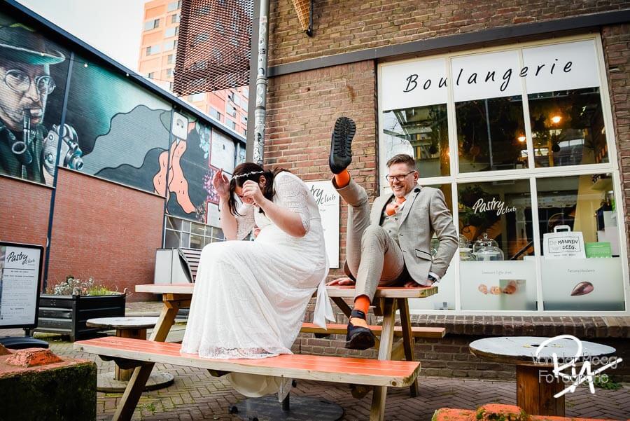 Trouwfotograaf Strijp S Eindhoven creatief spontaan