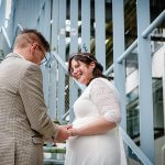 Bruidsfotograaf Eindhoven bruidsreportage strijp centrum industrieel
