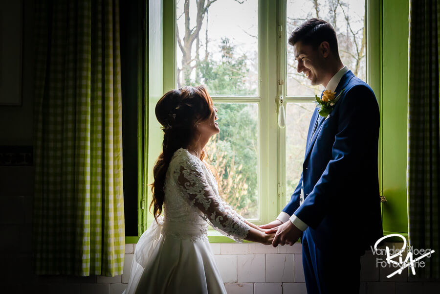 Bruidsfotografie Kasteel Geldrop trouwfotograaf
