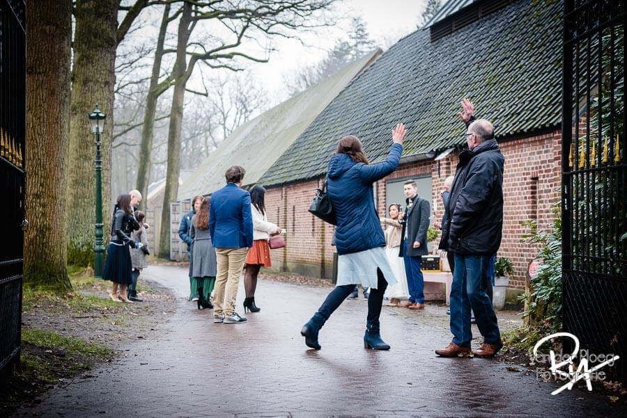 Fotograaf huwelijk kasteelhoeve Geldrop regen