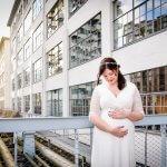 Trouwfotograaf Eindhoven zwangere bruid strijp S
