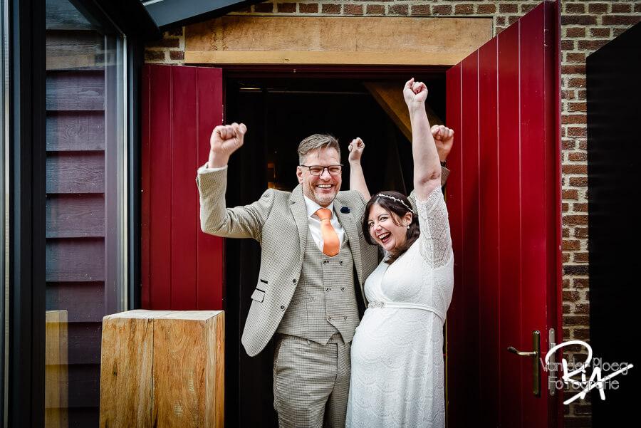 Trouwfotograaf Nuenen fotograaf huwelijk Watermolen Opwetten