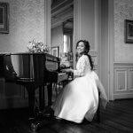 Trouwfotograaf kasteel geldrop piano fotograaf eindhoven
