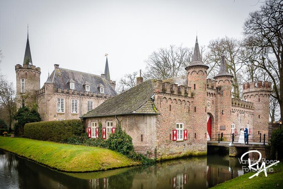 Bruidsfotografie kasteel Sint Oedenrode fotograaf Henkenshage