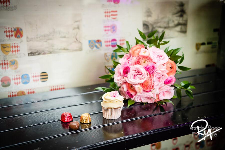 Fotografie bruidsboeket cupcake fotograaf Eindhoven Den Bosch