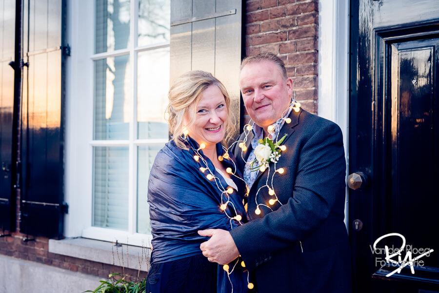 Trouwreportage Dommelen sfeer avond bruidspaar fotograaf Waalre