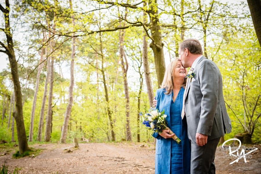 Bruidsreportage Geldrop natuur buiten fotograaf