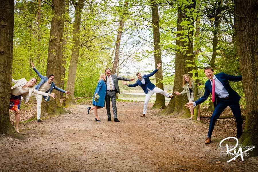 Groepsfoto familie natuur fotograaf Eindhoven