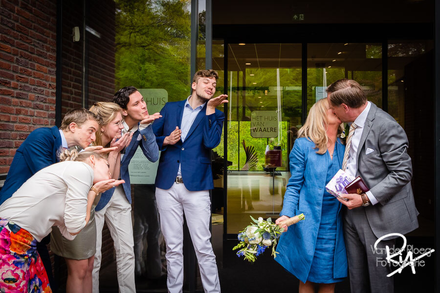 Trouwfotograaf Huis van Waalre bruidsfotografie