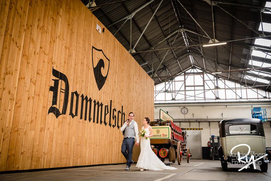 Bruidsfotograaf Dommelen Dommelsche bierbrouwerij Valkenswaard