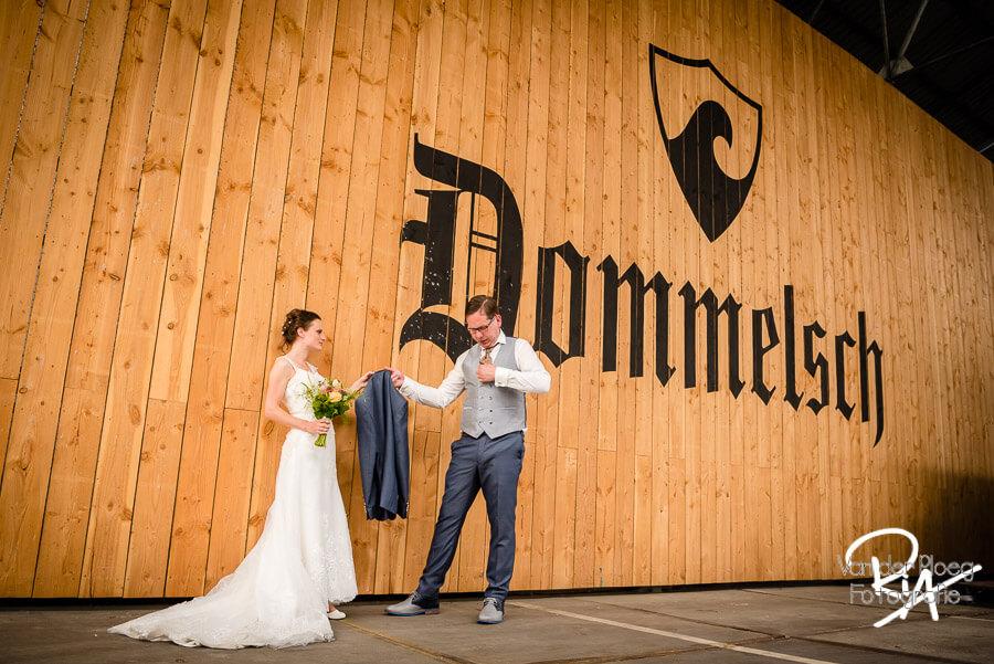 Bruidsfotograaf Dommelen Dommelsche bierbrouwerij