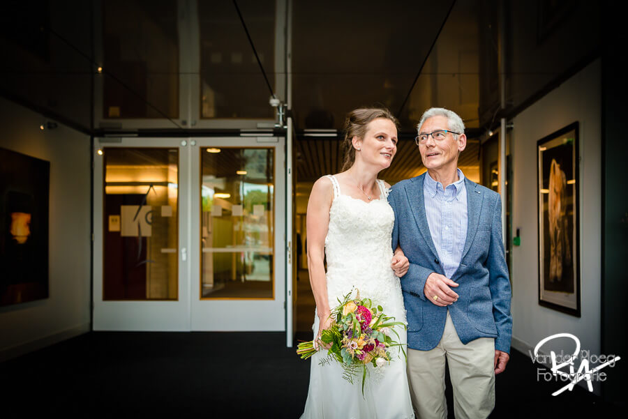 Bruidsfotograaf Eersel bruid vader