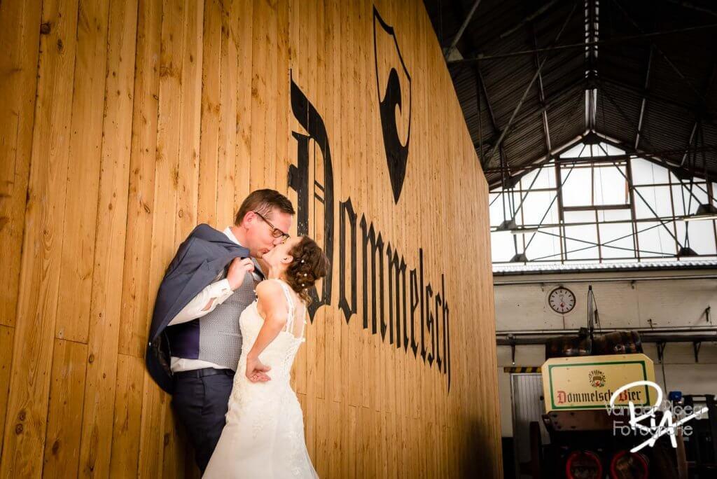 Dommelsche bierbrouwerij Bruidsfotograaf Dommelen