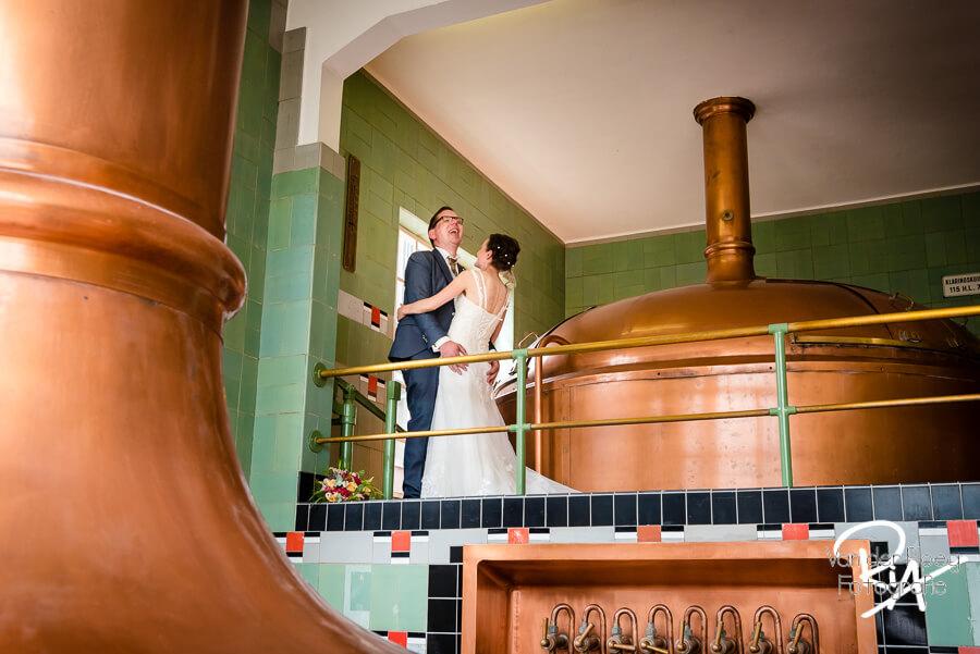 Plezier Dommelse brouwerij fotografie bruidspaar Valkenswaard
