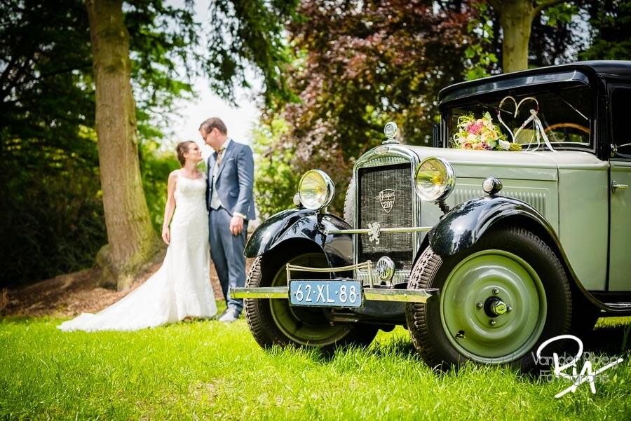 Trouwauto fotograaf huwelijk Valkenswaard