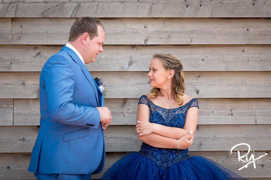 Trouwfotograaf Eindhoven bruidspaar liefdevol