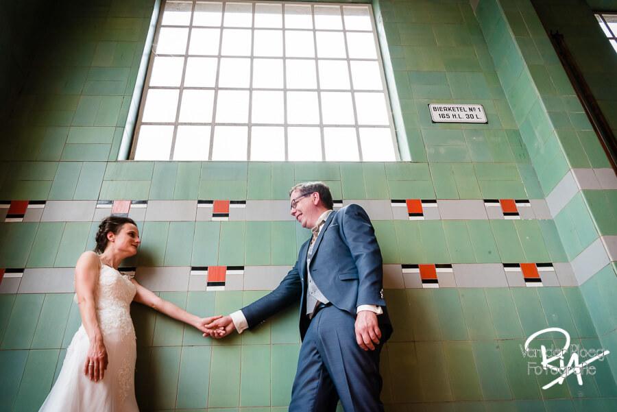 Trouwfotograaf Valkenswaard fotosessie bruidspaar