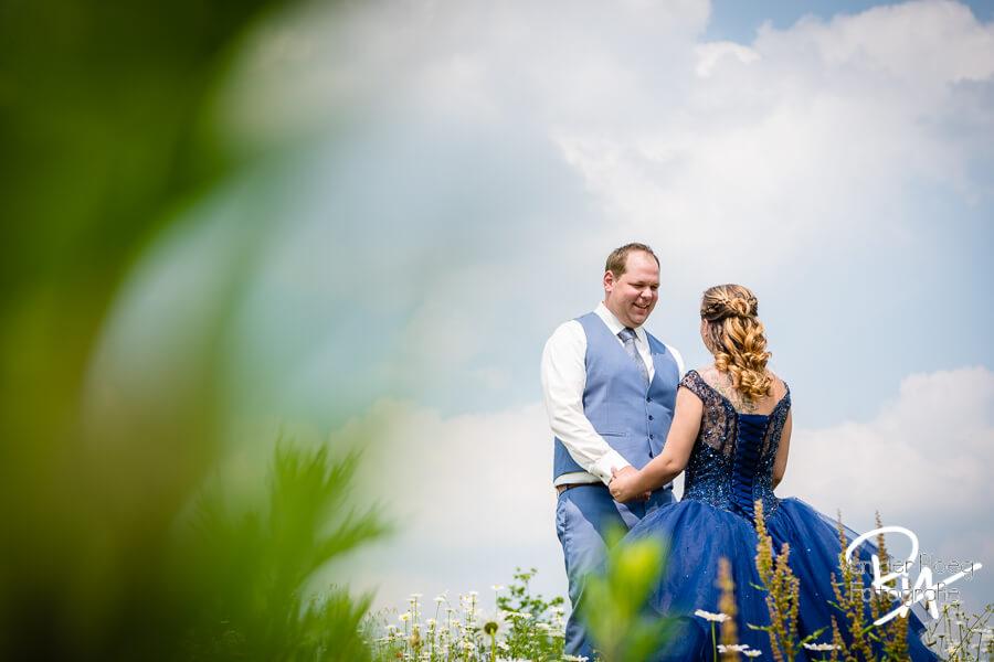 fotografie huwelijk bruidsreportage natuur Eindhoven