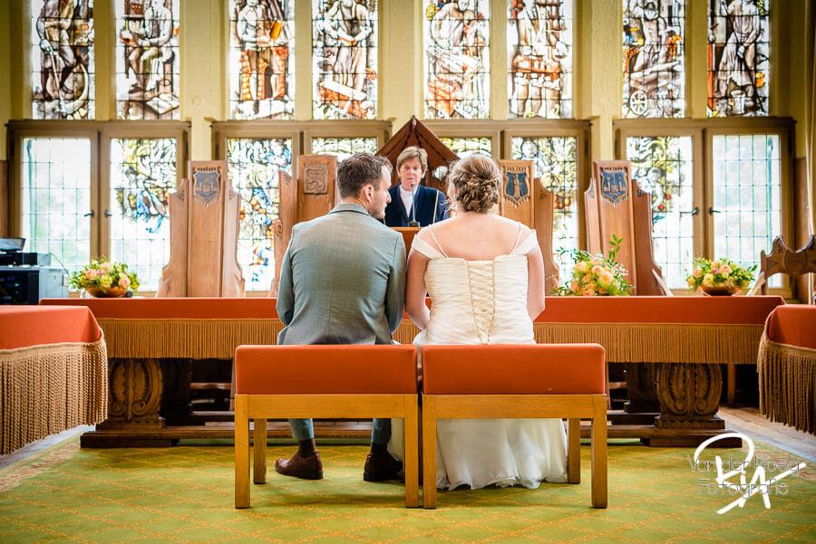 Bruidsfotograaf Vught Raadhuis Leeuwenstein bruidspaar