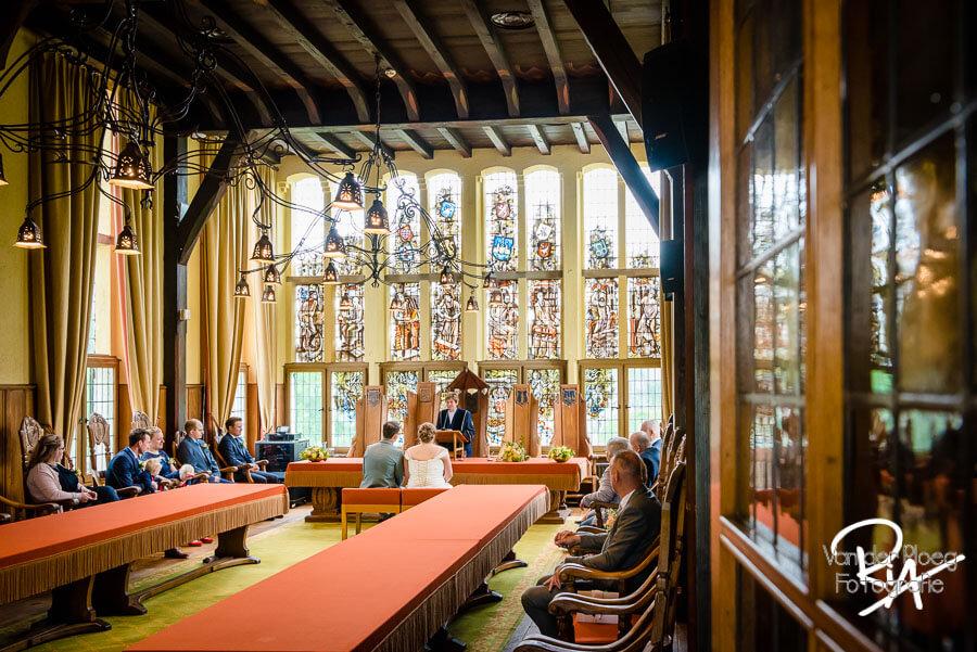 Bruidsfotograaf Vught Raadhuis Leeuwenstein ceremonie