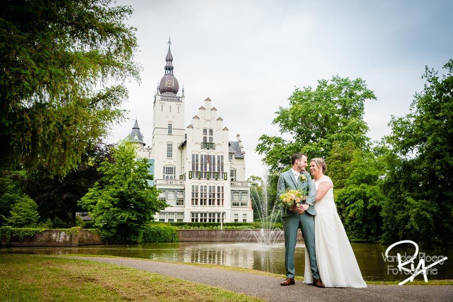 Bruidsfotograaf Vught Raadhuis Leeuwenstein park