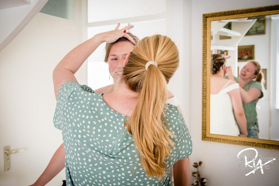 Bruidsfotograaf thuis fotograaf oirschot